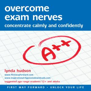 Overcome exam nerves