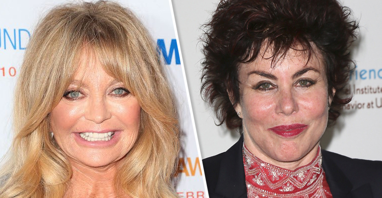 What do Ruby Wax and Goldie Hawn have in common … apart from being American and famous?