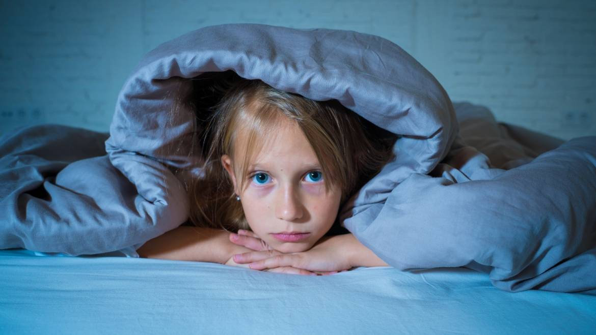 Your anxiety affects your child's sleep!